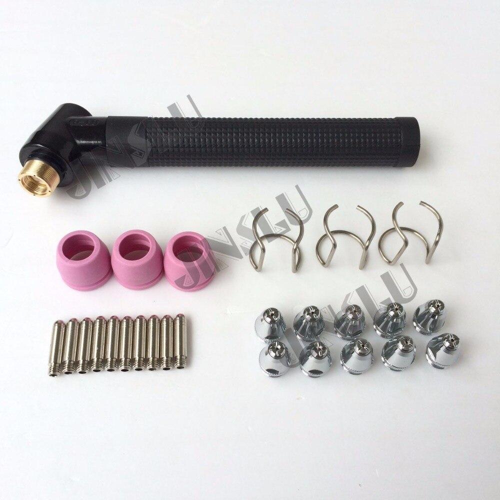 Darmowa wysyłka P60 palnik do cięcia ciała i materiałów eksploatacyjnych części zamiennych tarcza puchar końcówki elektrody Spacer przewodnik 27 sztuk