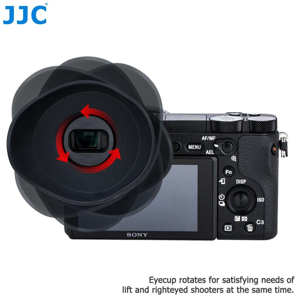 JJC резиновая Камера наглазник видоискателя протектор глаз чашки мягкого силикона окуляр для Sony A6500 заменяет Sony FDA-EP17