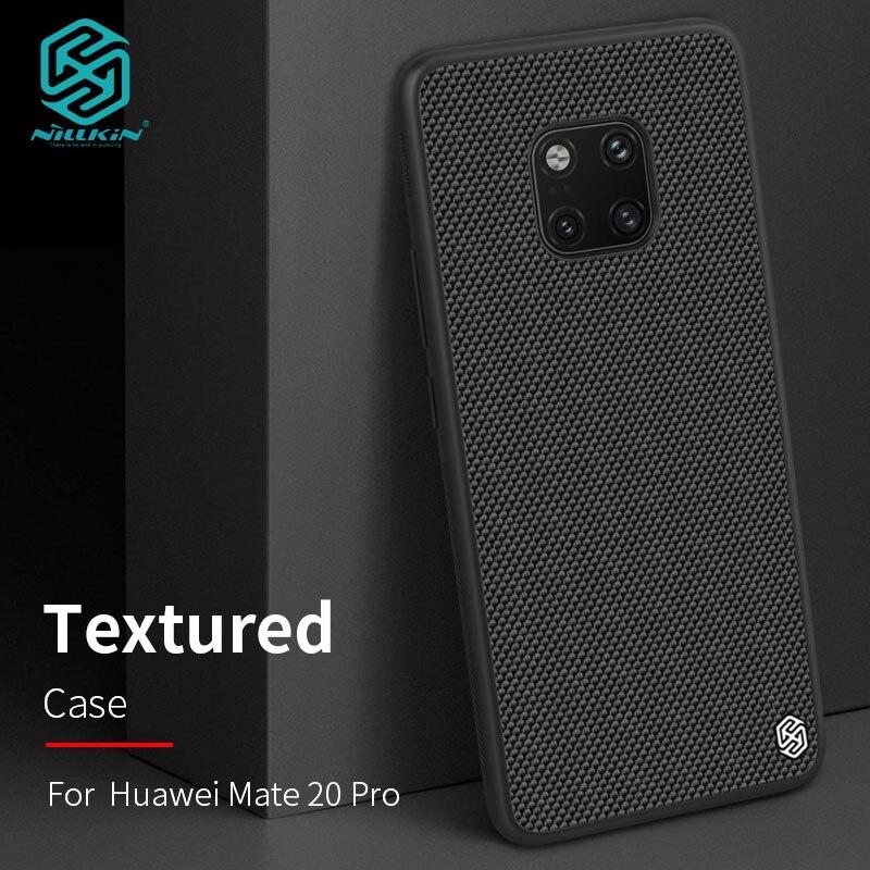 Чехол для Huawei Mate 20/Mate20 Pro Nillkin текстурированный нейлоновый чехол-накладка для Huawei Mate 20 Pro