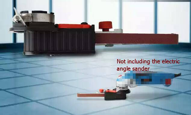 electric Sanding machine accessories head, belt machine conversion head, electric angle grinding belt conversion machine, enlarge