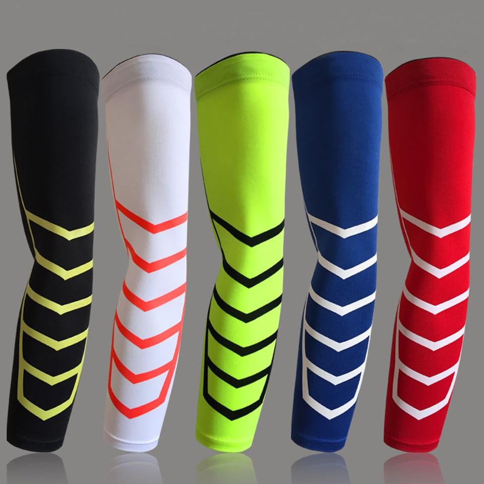 1 шт. эластичные дышащие спортивные защитные наколенники, наколенники для велоспорта, баскетбола с длинными рукавами, защита для суставов, 5 видов цветов