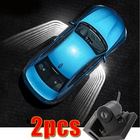 2PCS led welcome lamp ground light for Volkswagen Golf Sportwagen GTI Jetta City LT 28-35 LT 28-46 Lupo Multivan Nuevo Gol