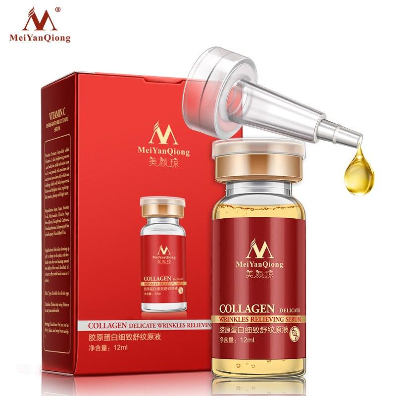 Collage Argireline + aloe vera + colágeno rejuvenecimiento suero antiarrugas para el cuidado de la piel de la cara productos crema antienvejecimiento 12ML