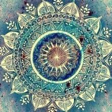 Diament koło 5D DIY diament haftowane niebieskie kwiaty 3D obraz Rhinestone mozaika diament Home naklejka dekoracyjna haft