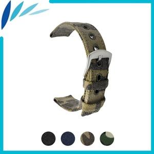 Nylon Nato Watch Band 18mm 20mm 22mm 24mm for Hamilton Men Women Canvas Fabric Strap Wrist Loop Belt Bracelet Black Blue + Tool