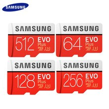 Nueva tarjeta de memoria Flash SAMSUNG 512GB U3 tarjeta Micro SD 256GB tarjetas TF tarjeta SDHC SDXC 128GB 64GB C10 U1 U3
