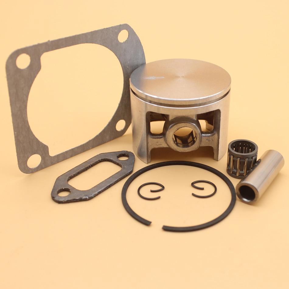 52MM Piston Ring Cage Bearing Muffler Gasket Kit For HUSQVARNA 268 272 XP K 272K 272XP 61 Chainsaw 504017002