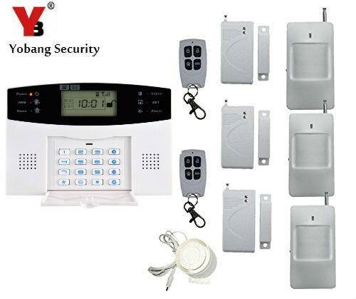 Yobang-sistema de Alarma de seguridad GSM con SMS, Alarma de llamada, Alarma...