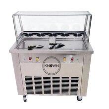 Big square pan capacity ice cream machine factory price ice cream machine  malaysia italian ice cream machine