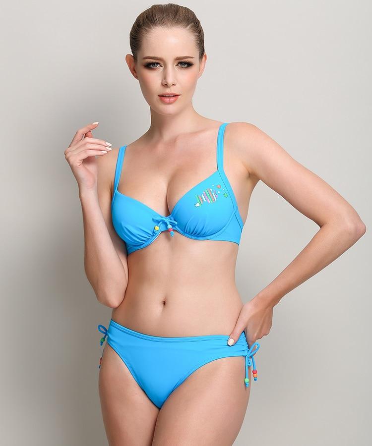 Ladies Swimwear Sexy Summer Beach wind Halter bikini swimsuit