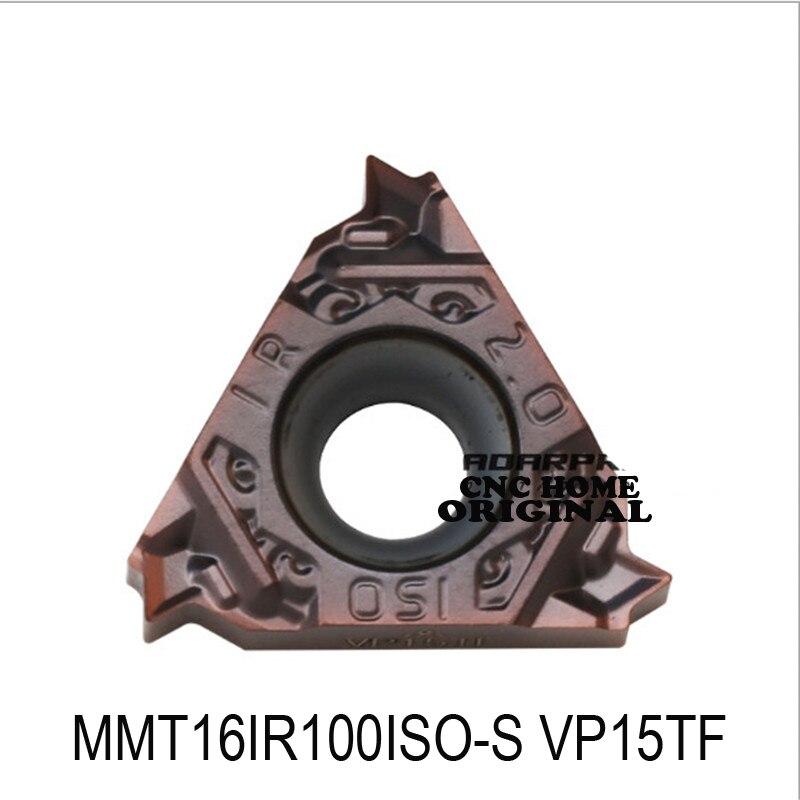 الأصلي MMT 16IR MMT16IR100 MMT16IR150 MMT16IR200ISO-S MMT16IR250 ISO-S خيوط كربيد إدراج تحول أدوات مخرطة القاطع