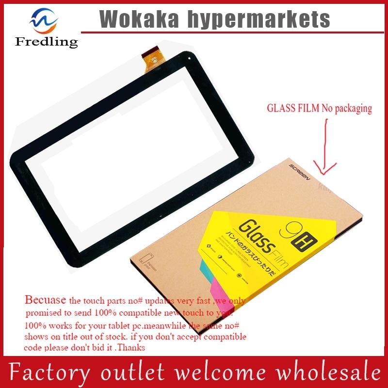 "Película de vidrio templado + nueva tableta 10,1 ""Oysters T102ER 3G Digitalizador de pantalla táctil Sensor de panel táctil de vidrio"