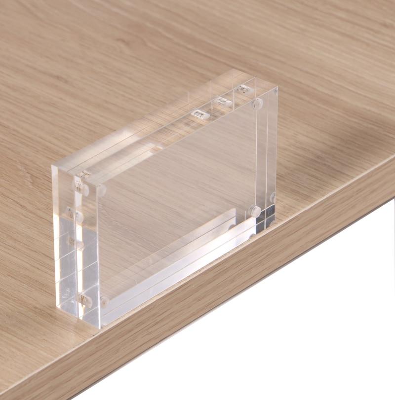Фото - 90*55mm Magnetic Acrylic Block Tabletop Menu Display Stand Menu Holder Menu Counter Display Stand Acrylic Picture Photo Frame daniel medina the scandalous menu