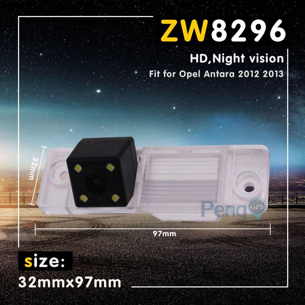Noche visión Auto reverso Backup cámara para Opel Antara 2012 HD 2013 impermeable vista trasera de coche