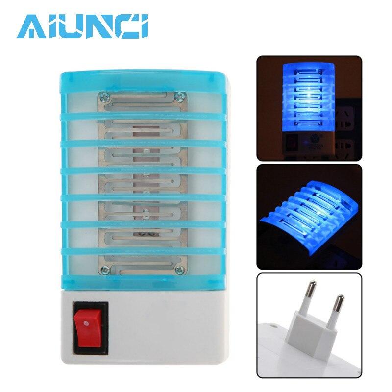 Trampa antimosquitos para el hogar, luz nocturna, lámpara antimosquitos, Repelente De mosquitos,...