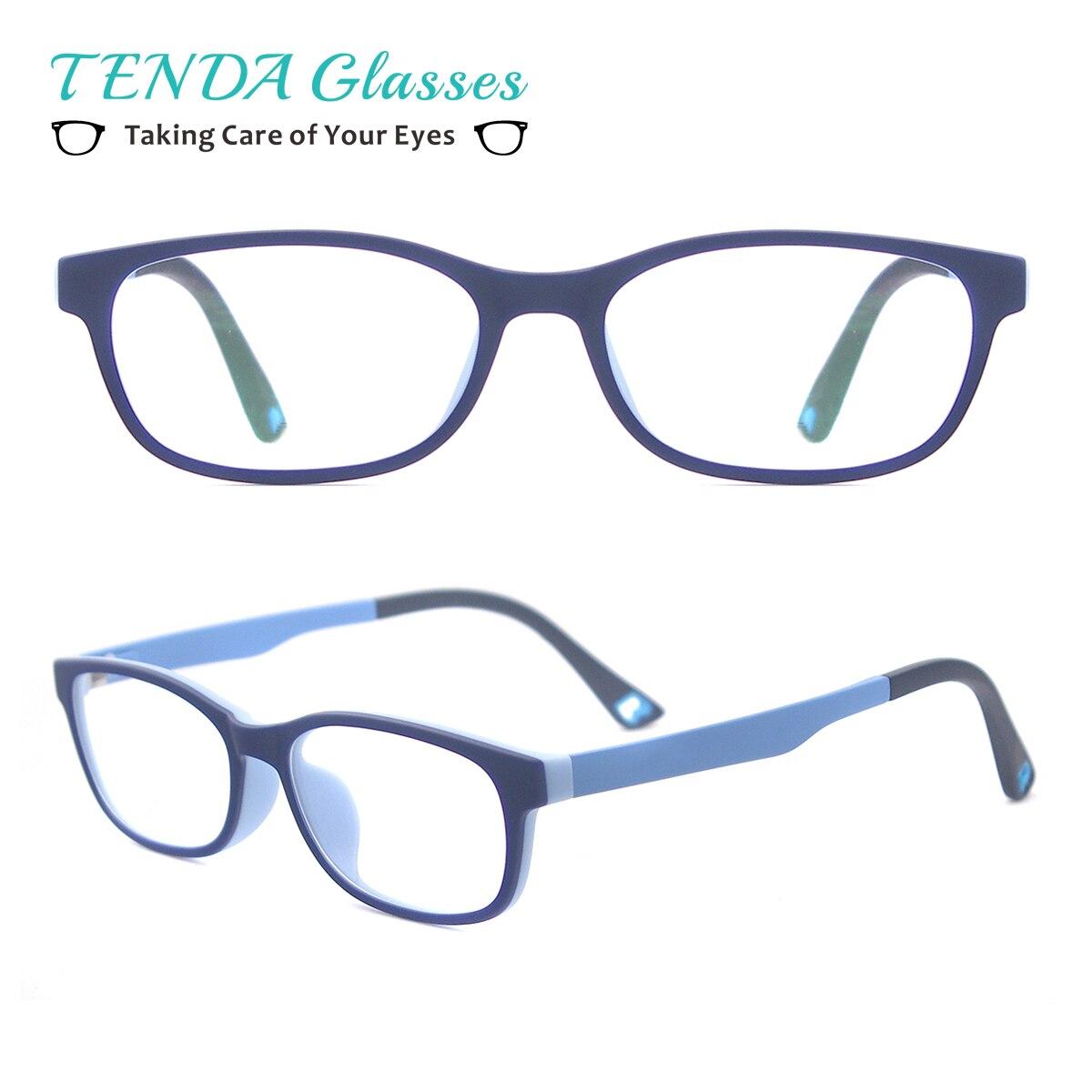 Gafas ovaladas Ultem para niños, suaves para niñas y niños monturas de gafas, gafas graduadas ligeras y flexibles