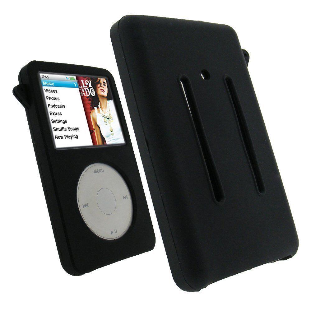 Силиконовый черный чехол для Apple iPod Classic 80 Гб/20 Гб/160 Гб аксессуары