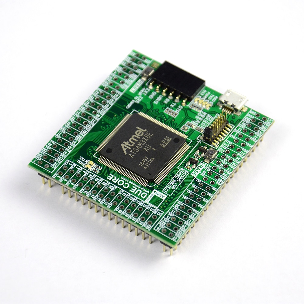INHAOS بسبب النواة SAM3X8E 32-بت الذراع Cortex-M3 البسيطة وحدة لاردوينو متوافق قام المحفل MCU 512K فلاش 96K RAM 12Bit ADC DAC 84MHz