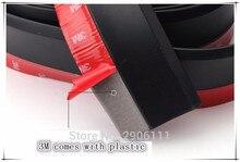 Protecteur de jupe à lèvres universel de voiture   Autocollant de voiture de 2.5M/8.2ft pour Skoda octavia fabia yeti rapia superb a accessoires de style de voiture