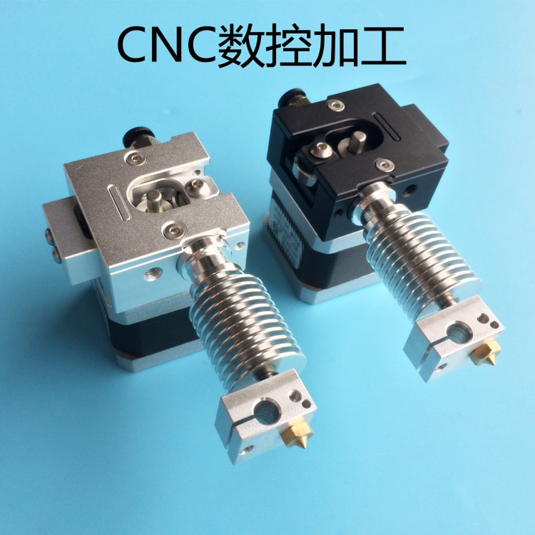funssor 1.75mm/3mm  Full Metal Bulldog bowden/direct extruder j-head V6 J-head Extruder For  3D Printer Part Reprap