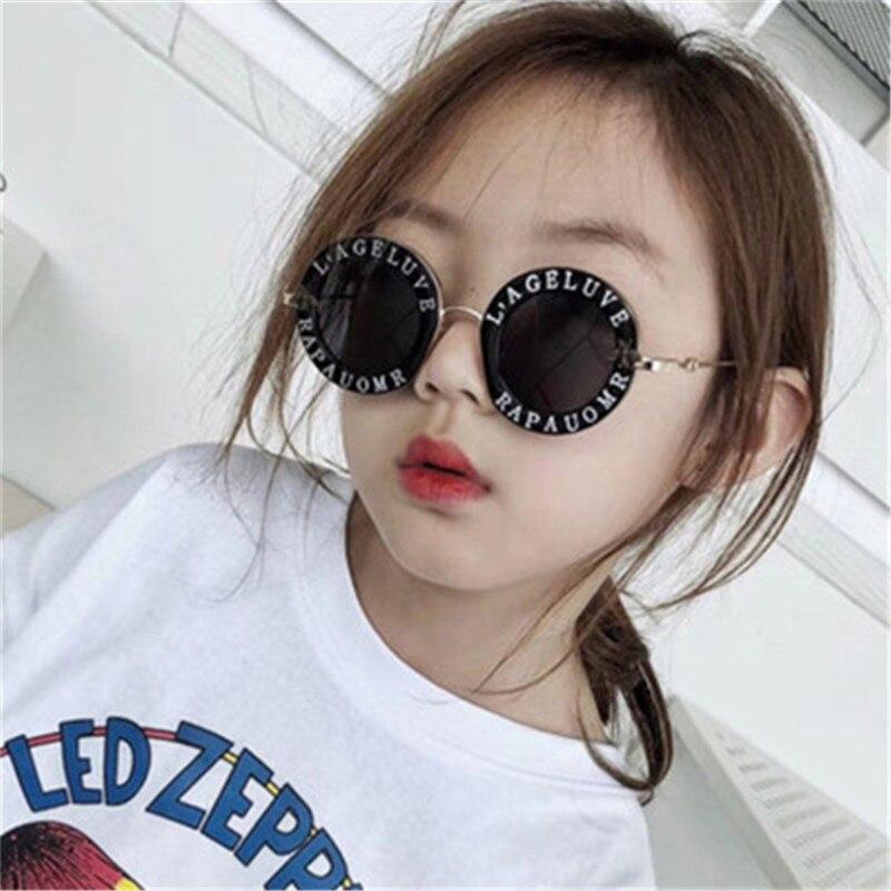 Gafas De Sol De moda para niños, Gafas De Sol redondas De abeja De dibujos animados para bebés, Gafas De Sol deportivas UV400 para niños y niñas, Gafas De Sol para niños