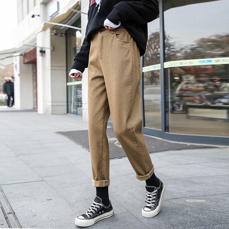 Nuevos Pantalones mujer Otoño e Invierno Casual pantalones sueltos Cargo pantalones de chándal de talla grande talla S-5XL Joggers mono con pantalones largos pantalón de mujer
