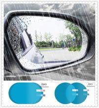 Car shape rearview mirror rain film anti-fog paste protection vision for BMW all series 1 2 3 4 5 6 7 X E F-series E46 E90 F09