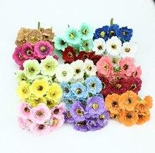 Boîte à bonbons scrapbooking 6 pièces   Décorations de noël en soie, en forme de cerisier, fleurs artificielles pour la maison et le mariage