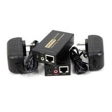 100m HD 1080P UTP VGA Extender RJ45 1x1 répartiteur avec 3.5mm Audio RJ45/cat5e/6 câble ethernet pour projecteur HDTV PC VE100