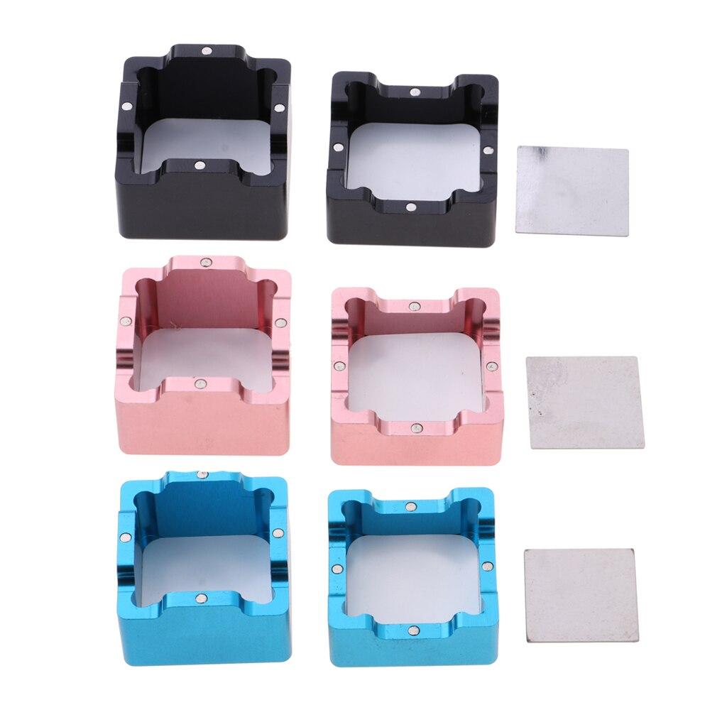 Universal bolsillo tiza para billar de tiza de billar funda, soporte Cue Tip herramienta billar Accesorios