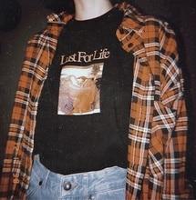 Lust for Life T-Shirt unisexe Vintage mode Grunge esthétique Tee-shirt Hipster Street Wear