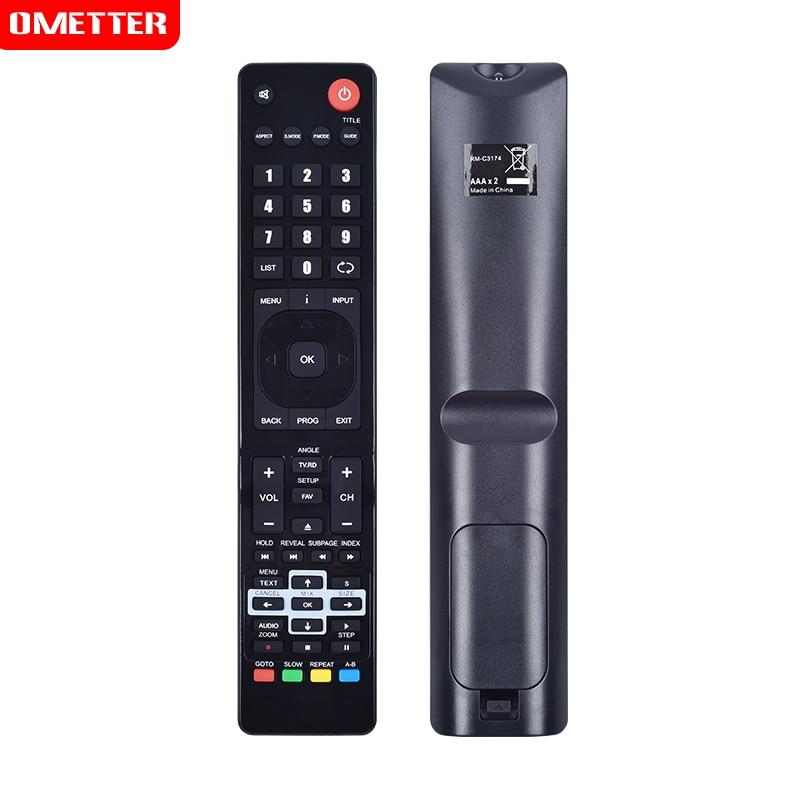 Control remoto para uso JVC RM-C3174 LT-42C550 RM-C3171 LT-40E710 LCD LED HDTV TV control remoto