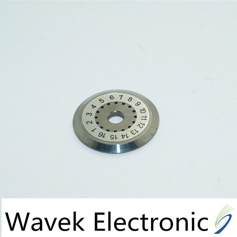 Juego de cuchillas cortadoras de fibra de 16 posiciones de calidad para Fujikura DVP Ect. CT-30/CT-20/CT06 rentable