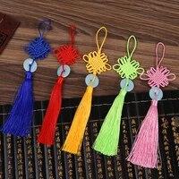 50 pcs new polyester chinese knots knotting imitation white jade tassel chinese style gifts curtain dress fringe trim decoration