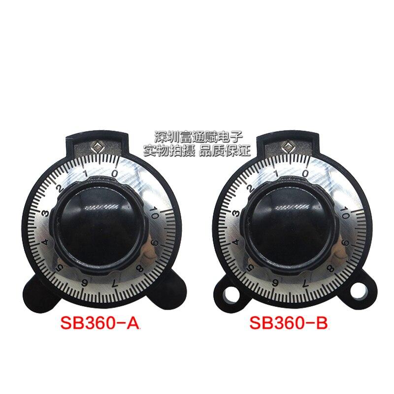 Botão correspondente botão digitais linear SB360 6 potenciômetro botão potenciômetro diâmetro do furo DOIS MILÍMETROS