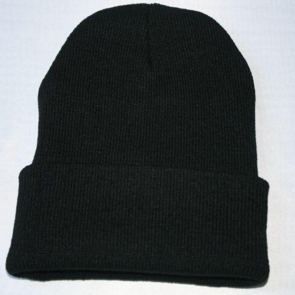 Woman Men  cap hatsune miku Unisex bucket hat Slouchy Knitting Beanie Hip Hop Cap Warm Winter Ski Hat
