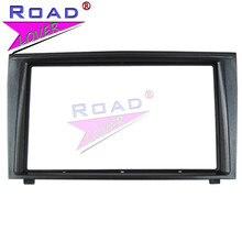 TOPNAVI 2 Din Car Audio Marco de panel Radio de coche fascia para Mitsubishi Colt Plus 2007-2009 aire acondicionado de coche instalación de vídeo