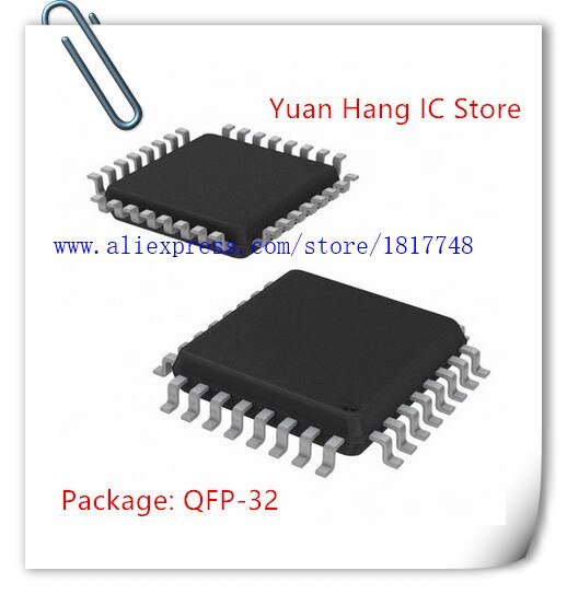 NOVA 10 pçs/lote ATMEGA48V-10AU ATMEGA48V 10AU QFP-32 IC