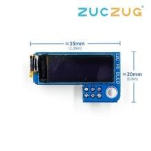PiOLED I2C 0.91 pouce OLED 128x32 SSD1306 bleu pour RPI Raspberry Pi 1, B +, Pi 2, Pi 3 et Pi Zero