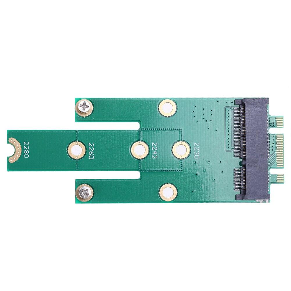 NGFF M.2 B + M ключ к mSATA Mini PCI-E PCI-Express SATA 3,0 SSD папа адаптер карта для 2242/2260/2280 m2 ngff SSD