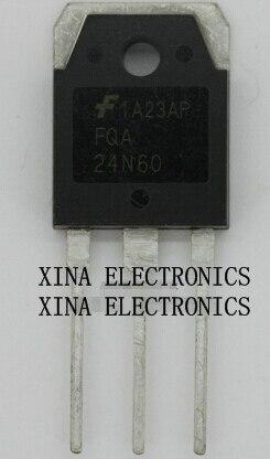 FQA24N60 FQA 24N60 23.5A/600V TO-3P ROHS ORIGINAL 10 unids/lote envío gratis electrónica composición kit