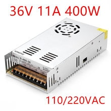 Beste qualität 36V 11A 400W Schalt Netzteil Treiber für cctv-kamera Led-streifen AC 100-240V Eingang zu DC 36V