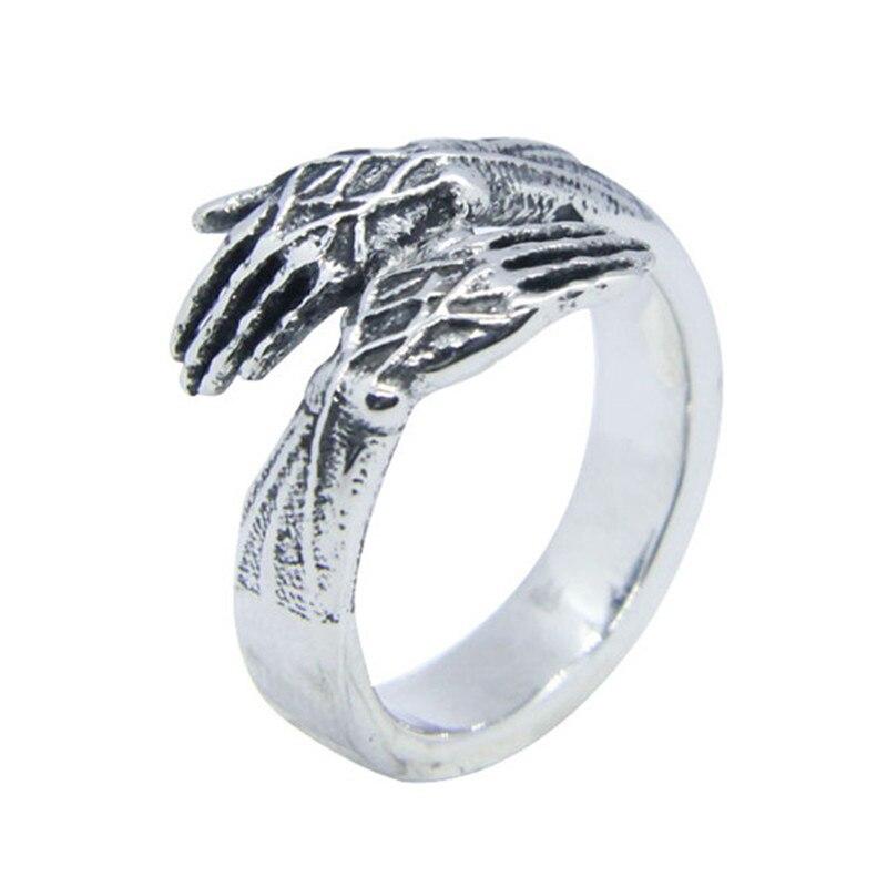 Кольцо из нержавеющей стали 316L, кольцо для вечеринок в стиле панк, 1 шт.