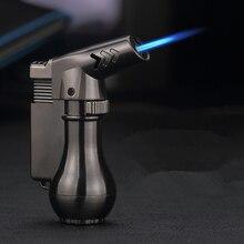 Mini pistolet de pulvérisation Butane Compact   Briquet Jet, Turbo briquet 1300 C, coupe-vent métallique briquet Jet, pas de gaz