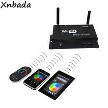 WIFI300 SPI RGB Led de contrôle avec écran tactile à distance pour WS2811 WS2801 WS2812B SK6812 Led bande DC5-24V