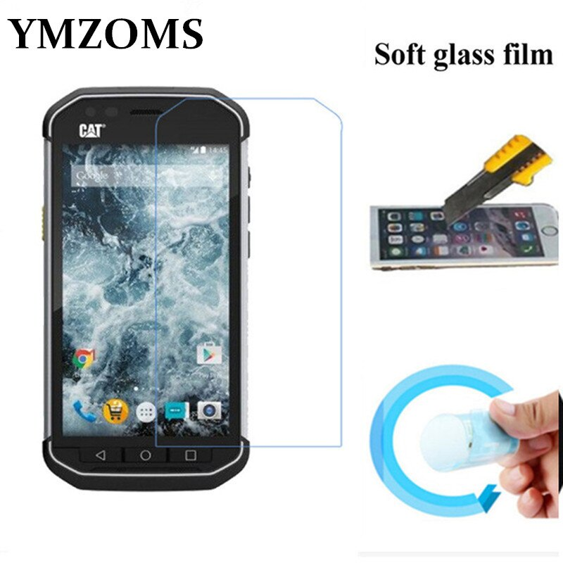 Для Cat S40 S50 B15Q Защитная пленка для экрана из мягкого стекла нано Взрывозащищенная защитная пленка Передняя пленка