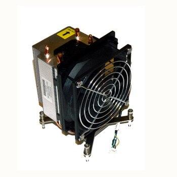 ML110 G7 радиатор и вентилятор SPN/644750-001 PN/631571-001 631571-001 ProLiant ML110 G7 вентилятор радиатора процессора   SPS 644750-001