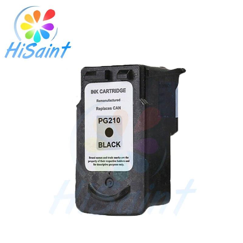 Hisaint refill картридж для Canon 210 PG 210XL PG-210XL для Canon MP240 MP250 MP280 MP480 MP490 MP495 чернила PG210 PG 210