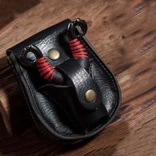 Caso de cuero riñonera para Honda y bolas de acero tirachinas de bolsillo catapulta bolsa de caza, de deporte accesorios para lazos
