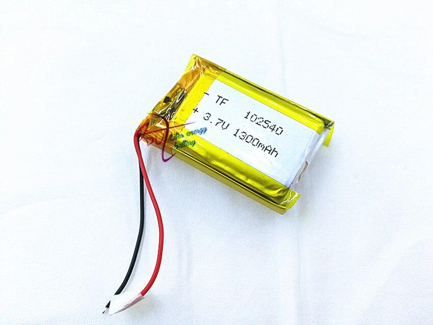 SD 3,7 V 1300mAh 102540 литий-полимерный литий-ионный аккумулятор для Mp3 MP4 MP5 GPS PSP mobile bluetooth